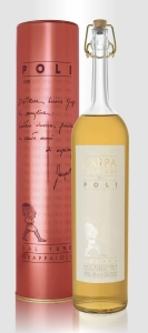 Grappa sarpa barrique poli