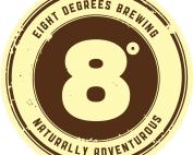 8 degrees